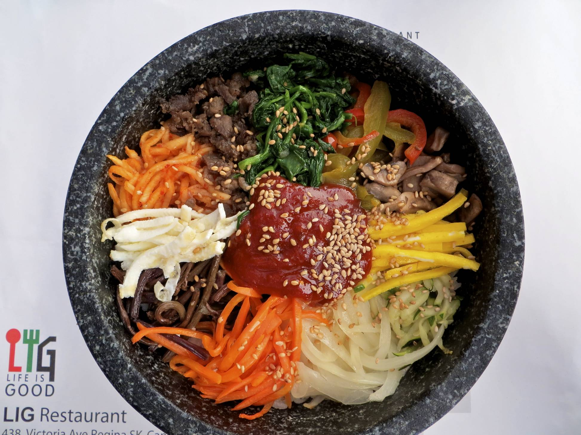 Vegetarian Korean Dolsot Bibimbap Recipes — Dishmaps
