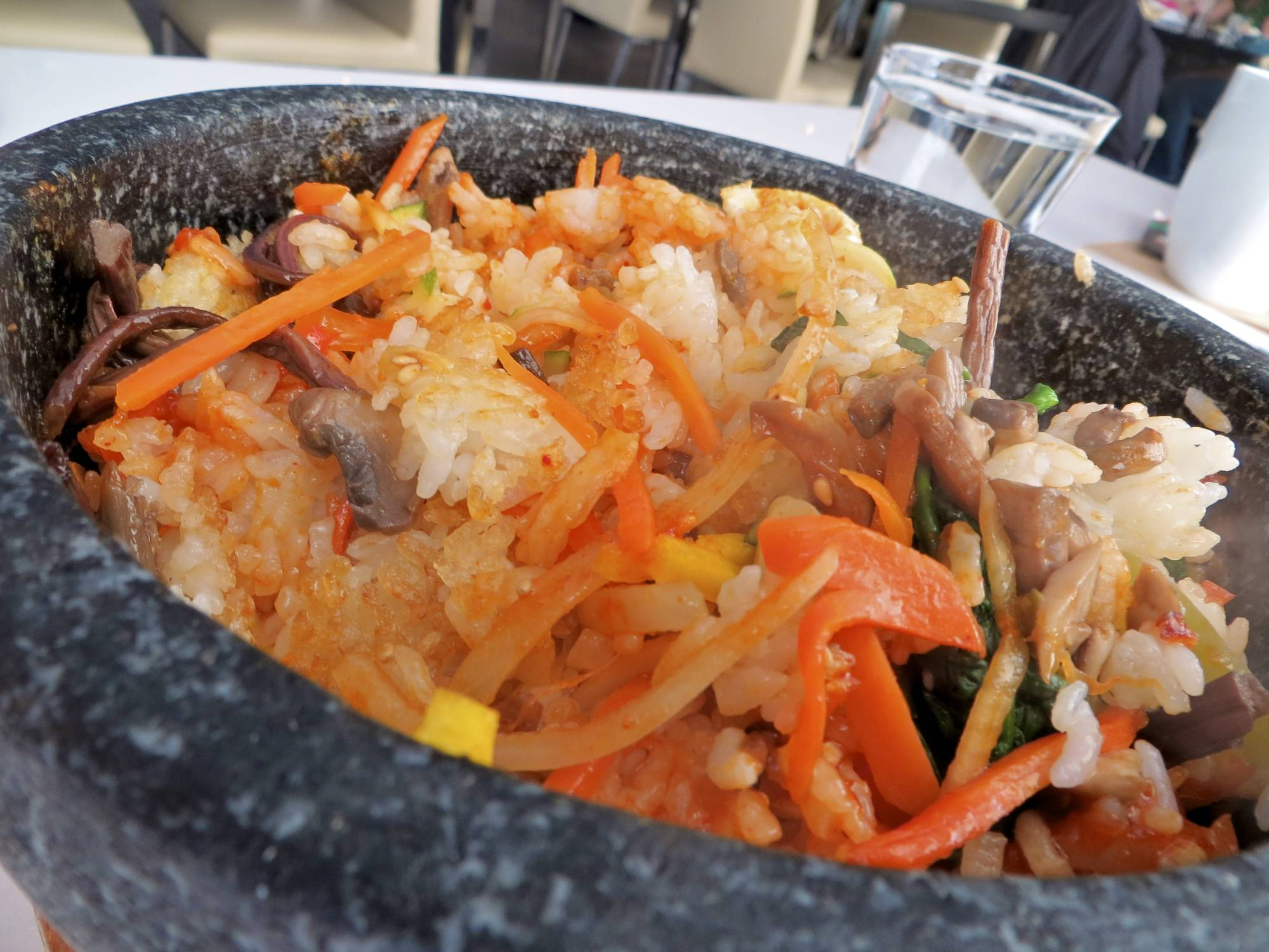 Dolsot Bibimbap - mixed up