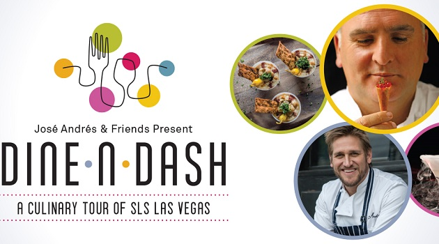 "Excited to ""Dine-n-Dash"" in Vegas!"
